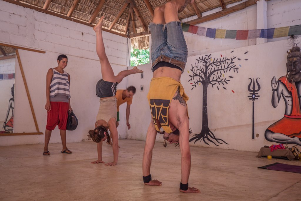 Yoga in Mazunte - travel to oaxaca mexico - things to do in oaxaca