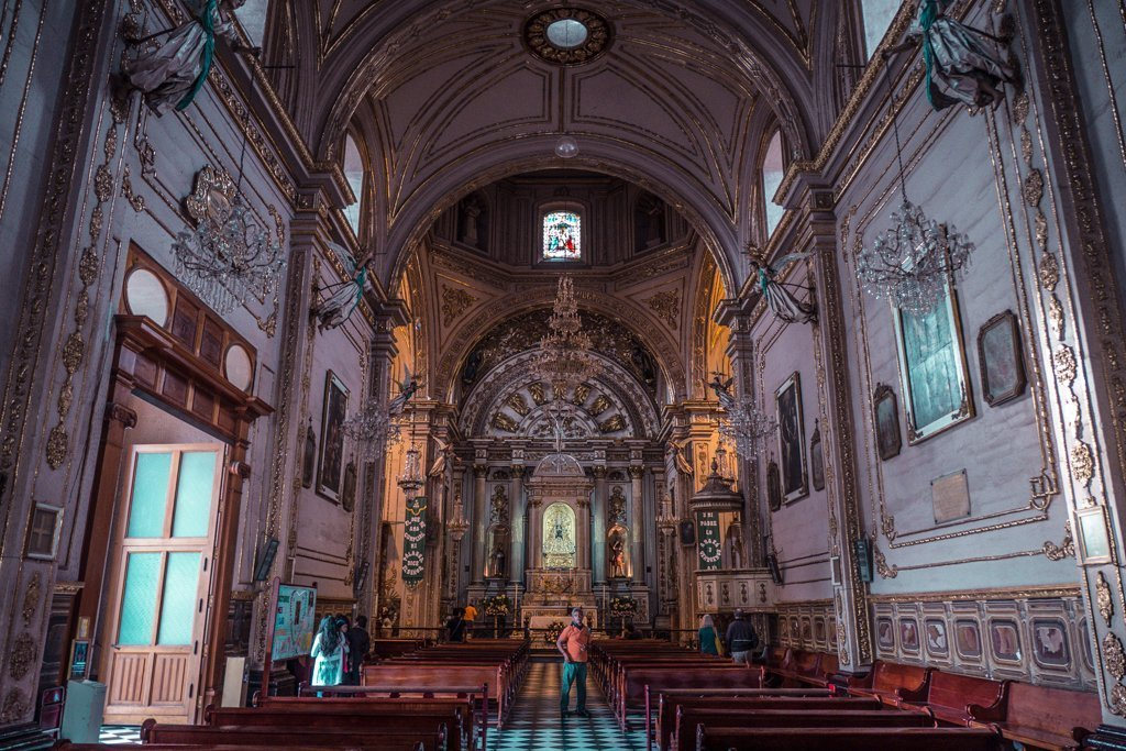 Cathedral of Our Lady of the Assumption - travel to oaxaca mexico - things to do in oaxaca