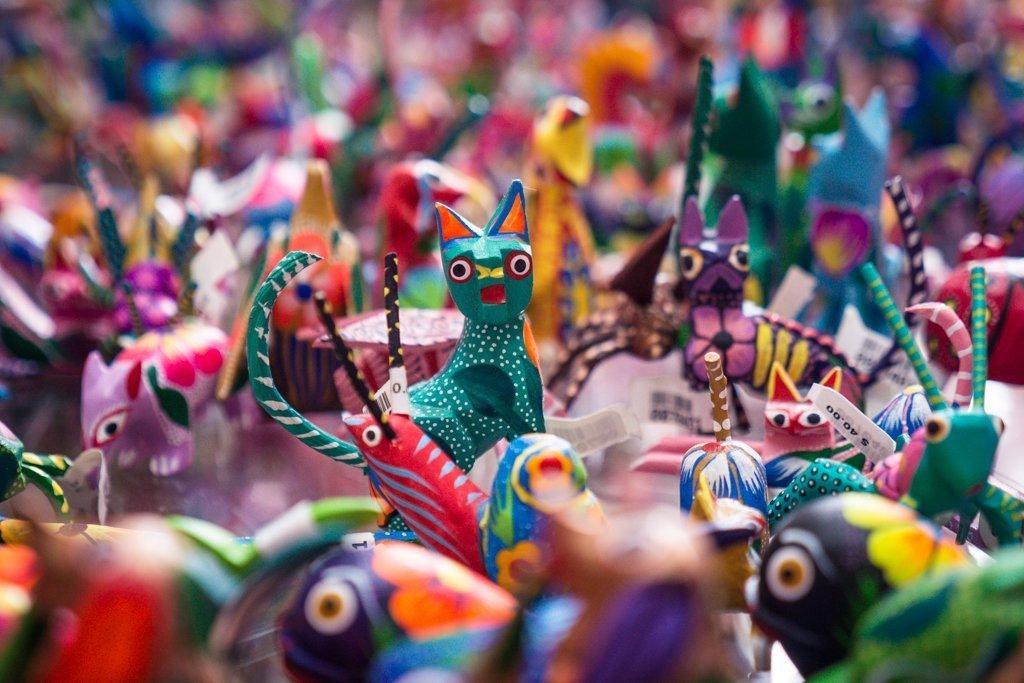 Mexican alebrijes - Day of the Dead Oaxaca - Dia de los Muertos Oaxaca