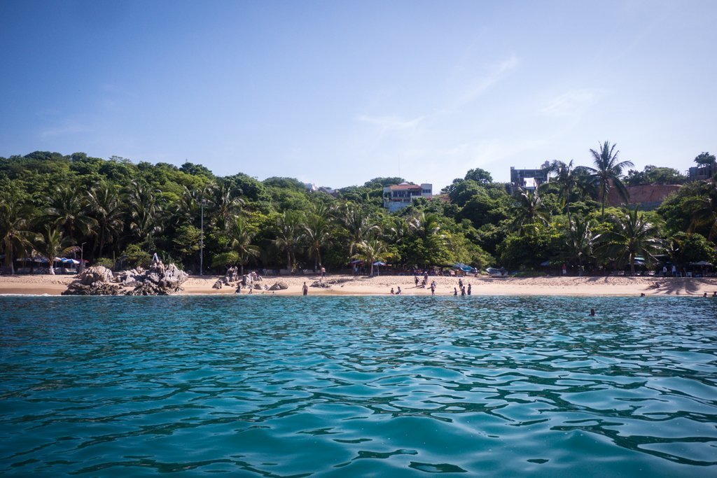 Playa Manzanillio - travel to oaxaca mexico - things to do in Puerto Escondido