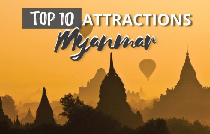 The Top 10 Myanmar Attractions and activities