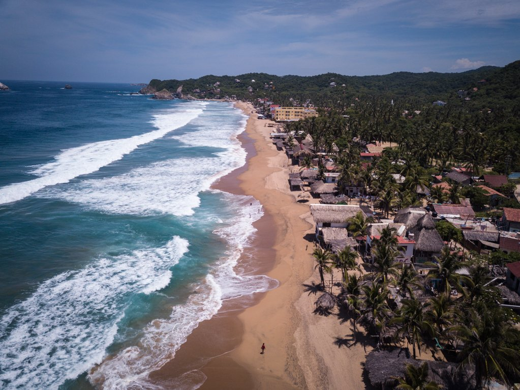 Playa Zipolite - travel to oaxaca mexico - things to do in oaxaca