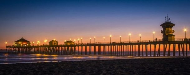 Huntington beach for best free things to do in the OC, USA