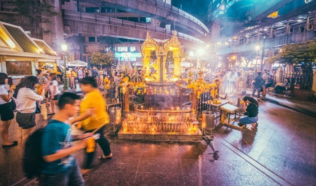 Erawan Shrine - Free things to do in Bangkok, Thailand