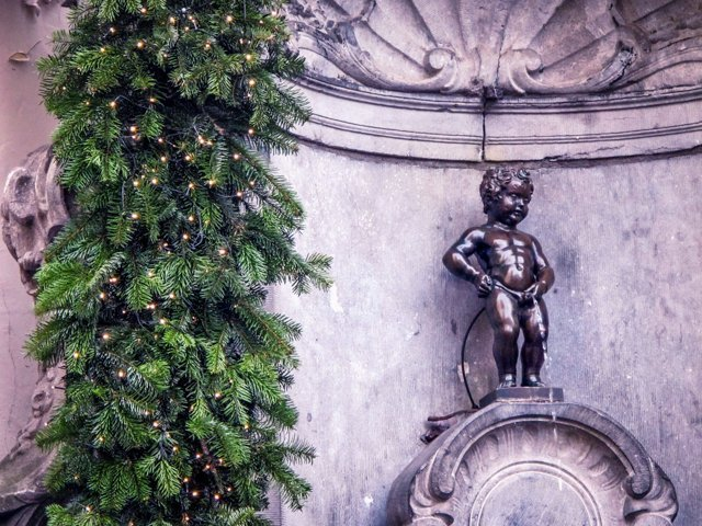 Manneke Pis - Fun Free Things to do in Brussels, Belgium