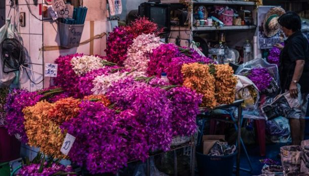 Flower Market - Free things to do in Bangkok, Thailand
