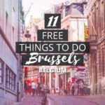 11 Authentic + Free Things to do in Brussels, Belgium