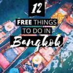 The best list of 12 enriching free things to do in Bangkok, Thailand. Free cultural activities, beautiful temples you can visit for free, plus markets, hikes and gardens. What to do in Bangkok | Need to save money in Bangkok? This list is all you'll need. 💃🏯🇹🇭 🕍 #Bangkok #Thailand #Budget #Free #CwC #travel #photography #Travel #Unique #Cities