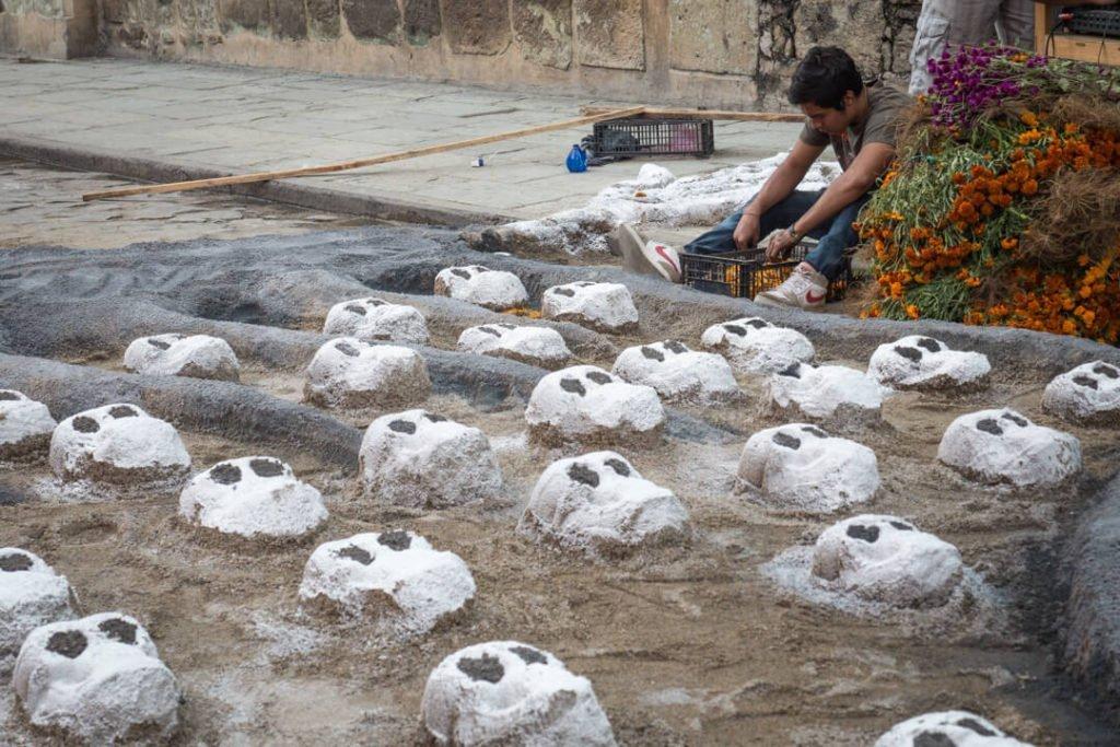 Sand Tapestries - Day of the Dead Oaxaca - Dia de los Muertos Oaxaca