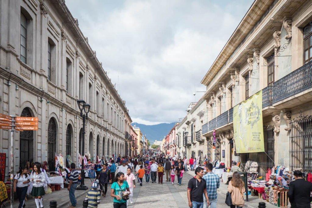 Calle Macedonio Alcalá - Day of the Dead Oaxaca - Dia de los Muertos Oaxaca