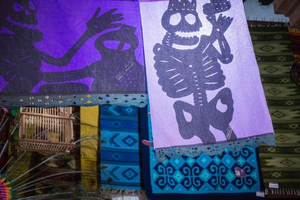 Papel picado - Day of the Dead Oaxaca - Dia de los Muertos Oaxaca