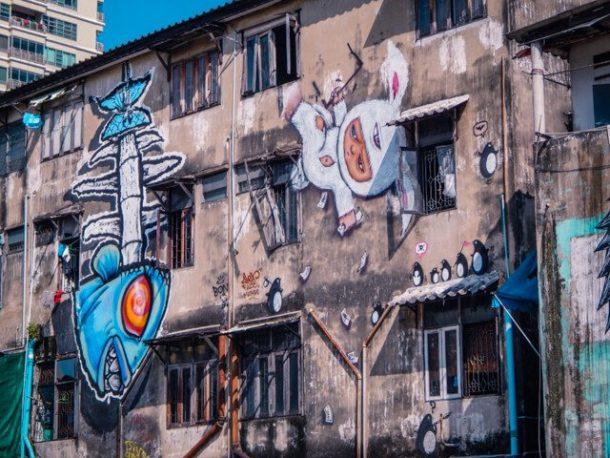Bangkok Street Art - Free things to do in Bangkok, Thailand
