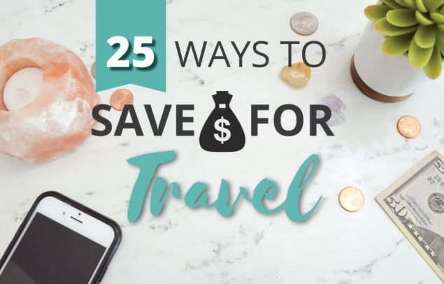 How to save money for long-term travel