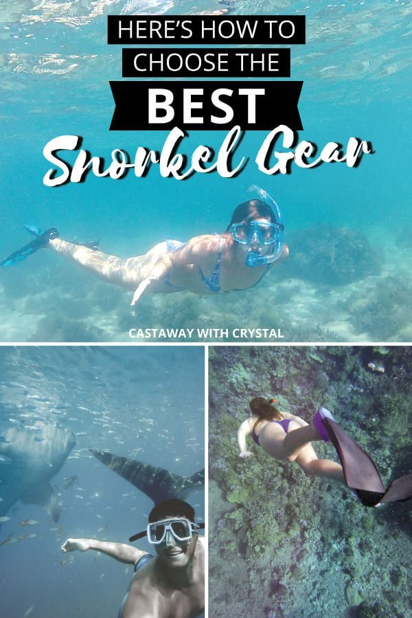 Read this is you'll be going for a snorkel during your travels… Don't get stuck with a leaky mask and painful fins - trust me, it sucks. Here's a list of the best snorkel gear for beginners, complete with helpful tips on how to choose a snorkel set that's perfect for you! #Snorkel #Travel #CwC #Water #Accessories #Best #Products #Adventure #Shop