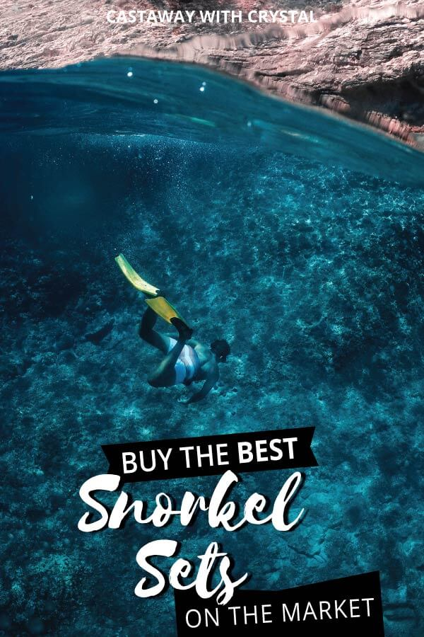 Will you be going for a snorkel during your travels? Don't get stuck with a leaky mask and painful fins. Here's a list of the best snorkel gear for travel, complete with helpful tips on how to choose a snorkel set that's totally perfect for you! #Snorkel #Travel #CwC #Masks #Accessories #Best #Products #Adventure #Shop