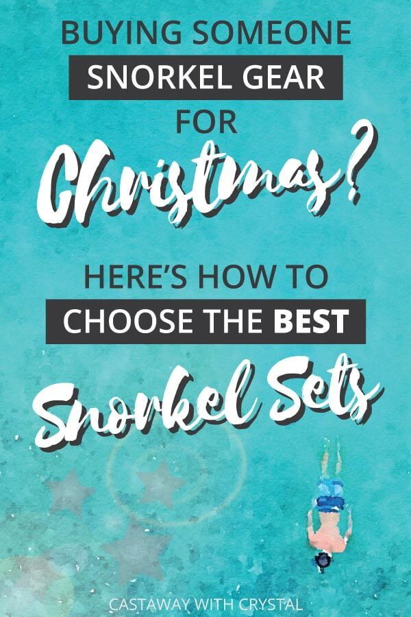 Want to buy someone special the ultimate Christmas present this year? Ran out of Christmas gift ideas? What about buying them a snorkel set for their next vacation?! Here's a list of the best snorkel gear out there, with helpful tips on how to choose a snorkel set that will be perfect for your loved one! #Christmas #Gift #Present #Ideas #Snorkel #Travel #CwC #Products #Adventure #Shop