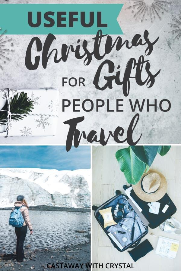 Gift guide for travelers | If you are looking for practical and useful Christmas gift ideas for someone who loves travel look no further! This is the ultimate checklist that every traveller needs when packing. If you are buying for a loved-one; all you need to do is take a look at this checklist, and ideas for presents will start flowing!#Christmas #ChristmasGifts #Presents #Gifts #Travel #CwC #products #shop