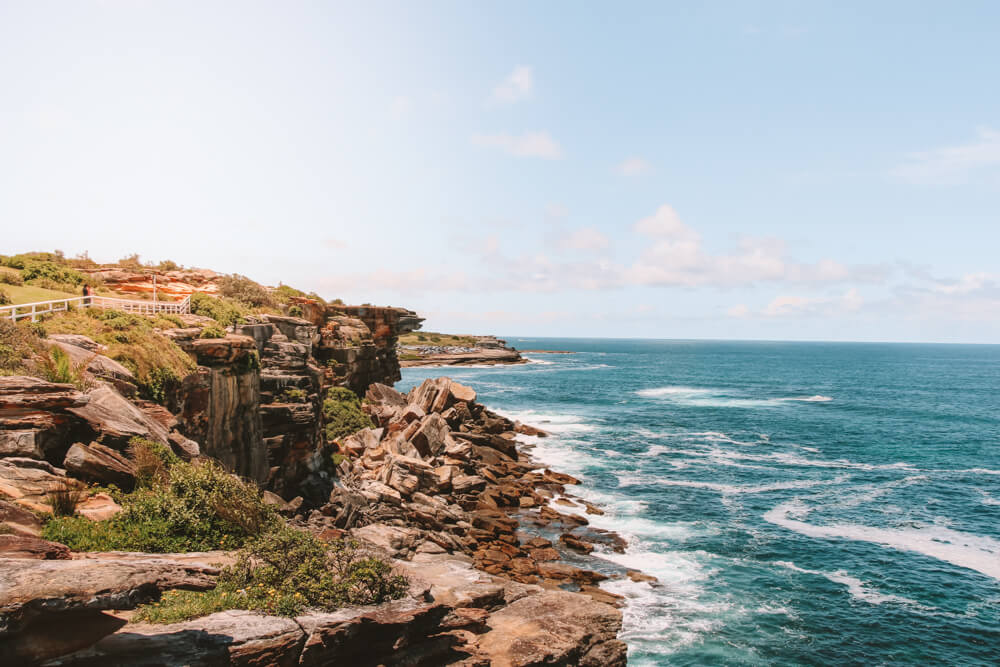 Bondi to Coogee Walk - Romantic things to do in Sydney on a budget