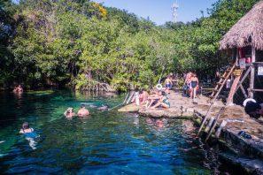 Cenote Cristalino for the Best Cenotes in Tulum, Mexico
