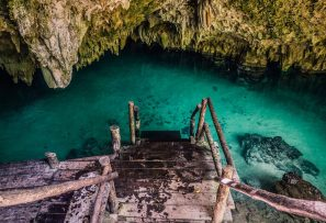 Snorkeling at Cenote Pet Cemetery for Best Cenotes in Tulum