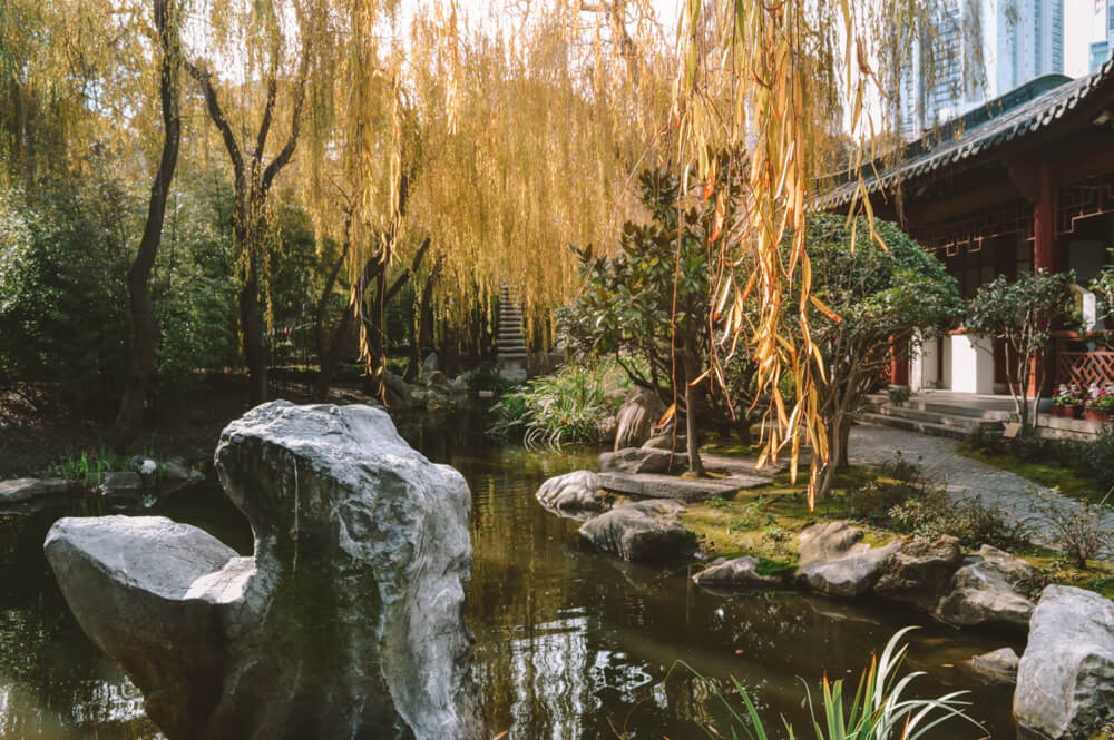Chinese Gardens Sydney - Romantic things to do in Sydney on a budget