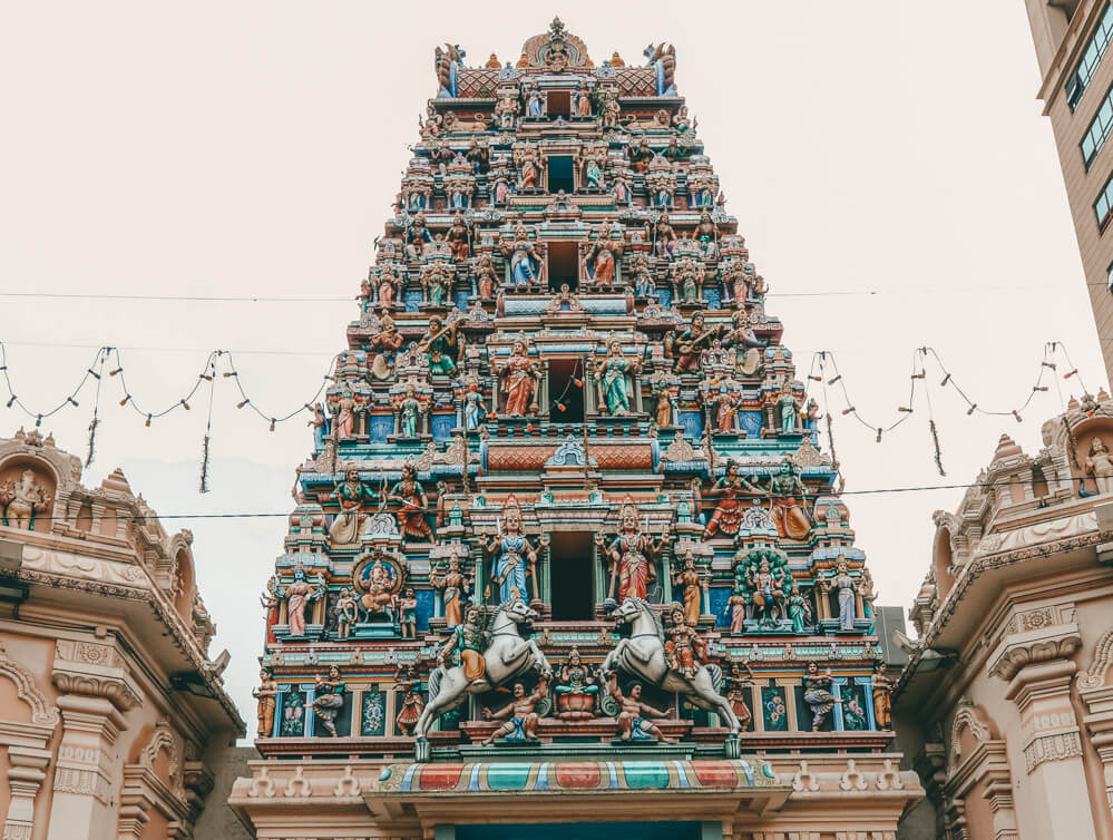 Sri Mahamariamman Temple for 3 day itinerary Kuala Lumpur, Malaysia and Kuala Lumpur 1 day itinerary