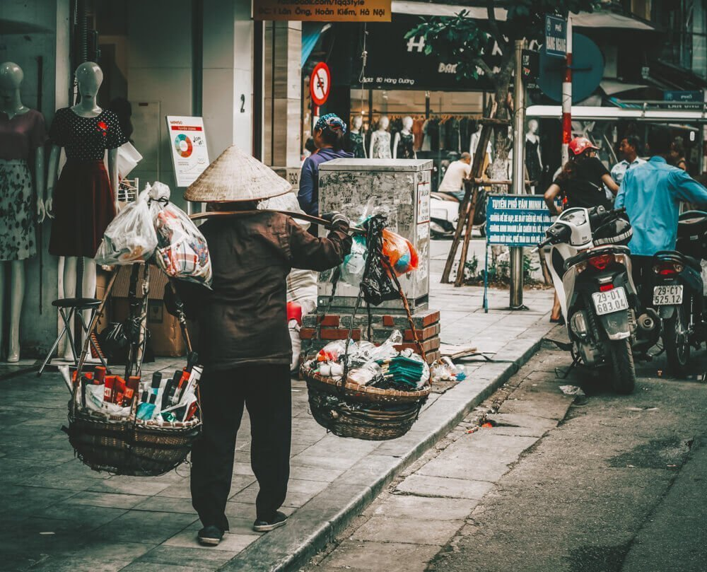 City streets of Hanoi for Free things to do in Hanoi, Vietnam