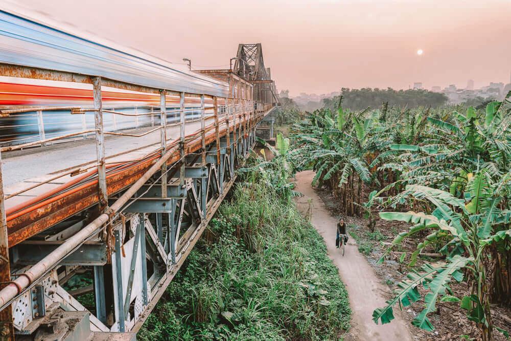 Long Bien Bridge for Free things to do in Hanoi, Vietnam