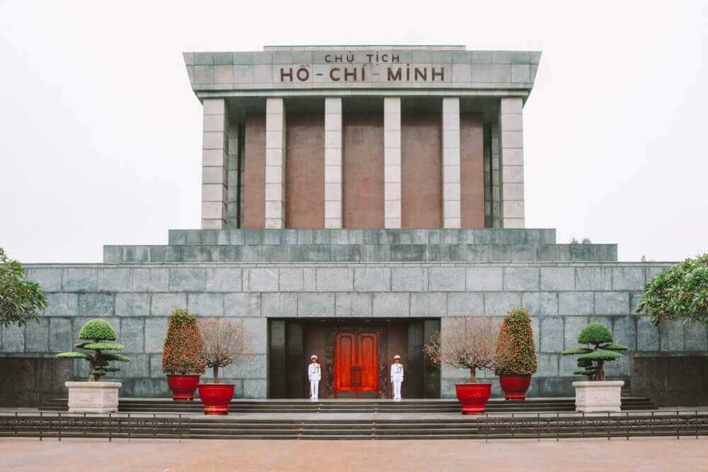 Ho Chi Minh Mausoleum for Free things to do in Hanoi, Vietnam