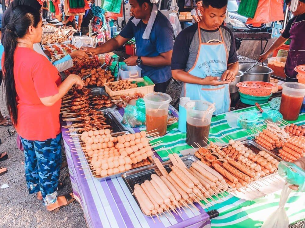Night market KL for 3 day itinerary Kuala Lumpur, Malaysia and Kuala Lumpur 1 day itinerary