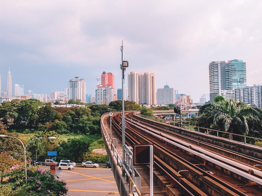 Railway in KL 3 day itinerary Kuala Lumpur, Malaysia and Kuala Lumpur 1 day itinerary