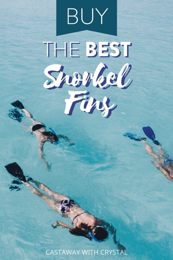 "3 people snorkel with text olay: ""Buy the Best Snorkel Finds"""
