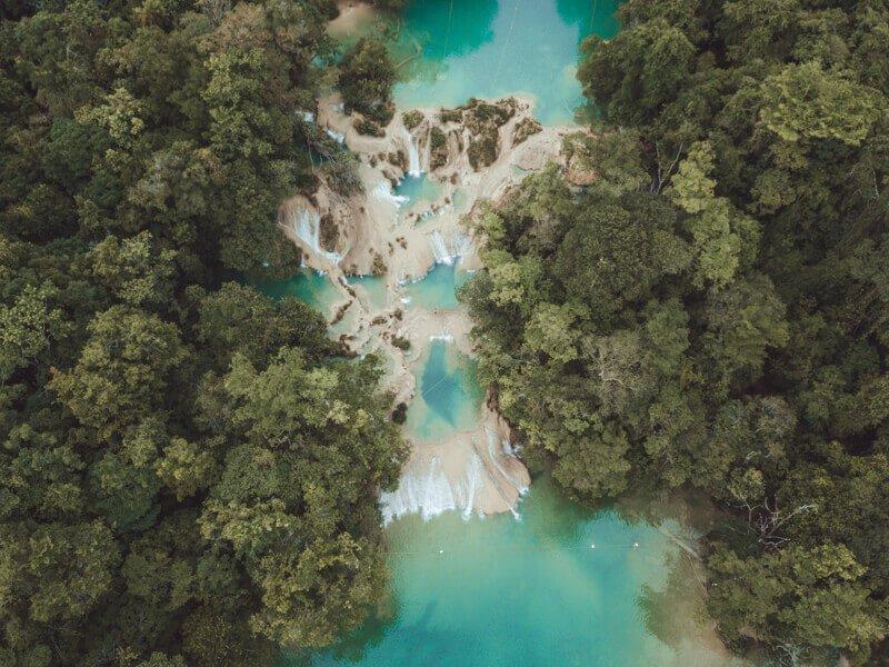 Cascadas Roberto barrios - Driving in Mexico Road Trip