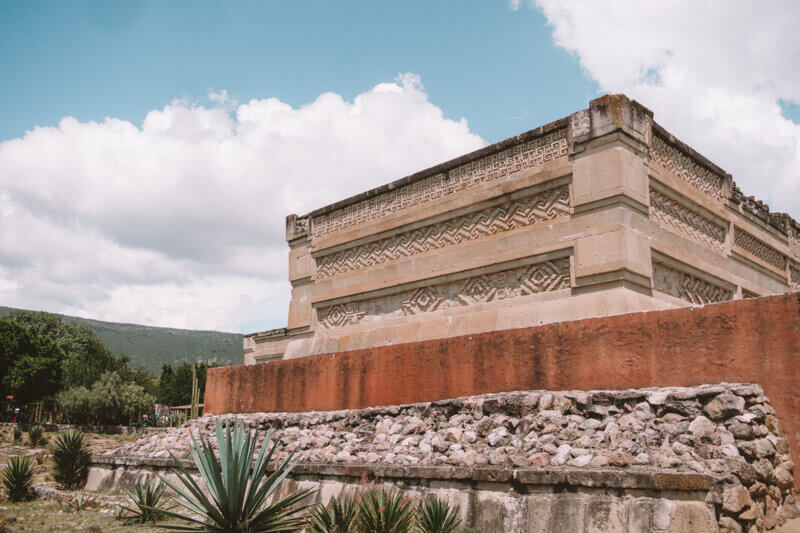 Mitla ruins in Oaxaca - Driving in Mexico Road Trip