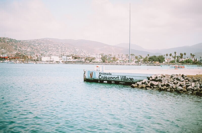 Ensenda port village - Driving in Mexico Road Trip