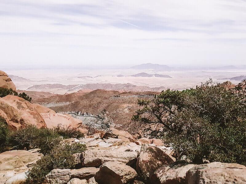Desert roads in Tecate - Driving in Mexico Road Trip