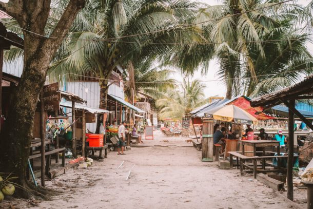 Koh rong island for Backpacking Cambodia Itinerary