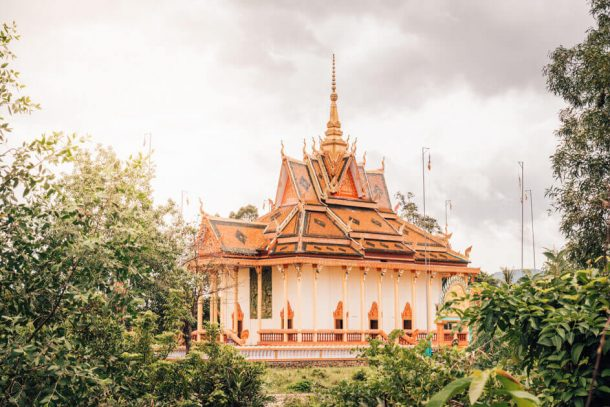 Toek Vil Pagoda for Backpacking Cambodia Itinerary