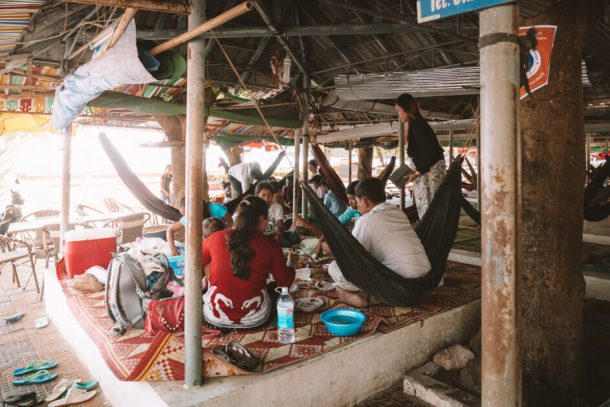 Kep restaurant for Backpacking Cambodia Itinerary