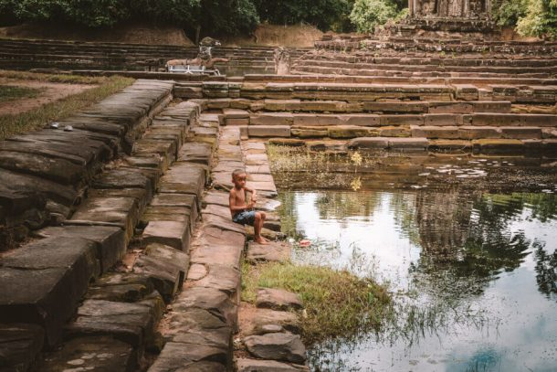 The Angkor Wat Temples for Backpacking Cambodia Itinerary