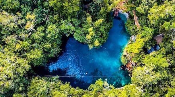 Zapote Cenote for Best Riviera Maya Cenotes