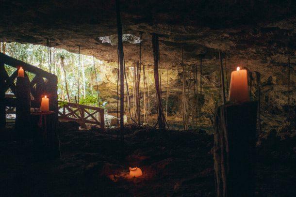 Cenotes Chikin Ha with Shaman ceremony for Best Riviera Maya Cenotes