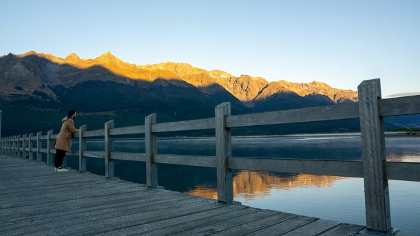 Take a Photo at Glenorchy Wharf for Free Things to do in Queenstown NZ