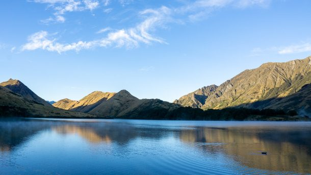 Watch the Sunrise at Lake Moke for Free Things to do in Queenstown NZ