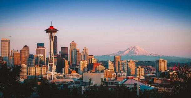 The Space Needle for 3 days in Seattle itinerary