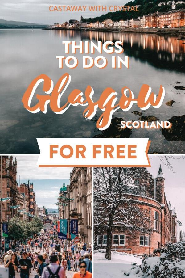 3 images of Glasgow city for Free things to do in Glasgow, Scotland, UK