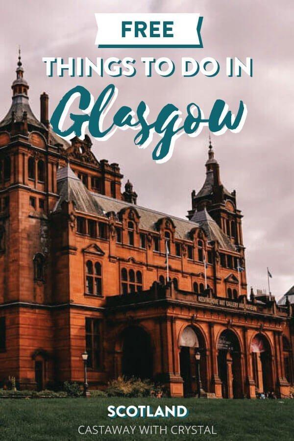 Glasgow University for Free things to do in Glasgow, Scotland, UK