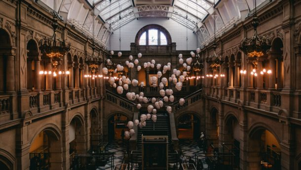 Kelingrove Art Gallery for Free things to do in Glasgow, Scotland, UK