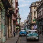 Old cars in Old Havana, Cuba
