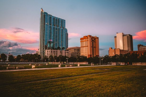 Curtis Hixon Park for Fun Free Things to do in Tampa Florida USA